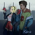 Gwen and Miles Morales!