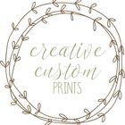 Creative Custom Prints Pinterest Account