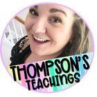 Thompson's Teachings Pinterest Account