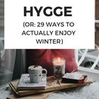 Hygge Style Pinterest Account
