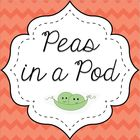 Peas in a Pod Lessons