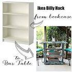 ikea billy bookcase hack instagram Account