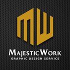 Majestic Work | Graphic Design | Logo Design | Tshirt Design