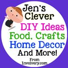 Jen's Clever DIY Ideas-Food, Home Decor, Crafts, Recipes & Gifts Pinterest Account