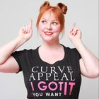 The Curvy Carrot Top Pinterest Account