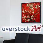 overstockArt instagram Account