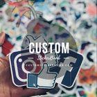 Custom Sticker Bomb Pinterest Account