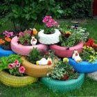 Decoración de Jardines Reciclaje instagram Account