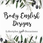 BODY ENGLISH DESIGNS lifestyles and occasions instagram Account