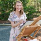 Ashley: Live Wedding Painting, Watercolor Art & Stationery Pinterest Account