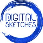 Digital Sketches Pinterest Account