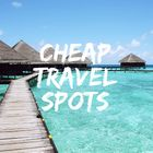 Cheap Travel Spots instagram Account