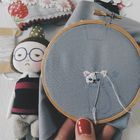 Stitching Embroidery Pinterest Account