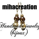 mihacreation [Handmade jewelry (bijoux)] Pinterest Account