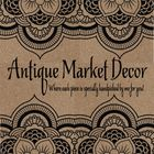 Antique Market Decor
