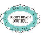 Right Brain Boutique Pinterest Account