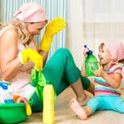 Home Cleaning Schedule For Working Moms Pinterest Account