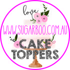 Sugar Boo Cake Toppers instagram Account
