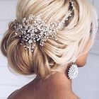 Bridal Hair Clip Pinterest Account