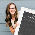 Circle & Square decor | Personalized dry erase Chalkboard, Whiteboard & Acrylic Calendars Pinterest Account