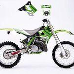 Okleina Kawasaki Kx 125 250 94 98 5626597520 Oficjalne Archiwum Allegro Dirt Bike Gear Kawasaki Dirt Bikes 70cc Dirt Bike