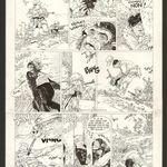 Hermann Comanche Par Hermann Greg Planche Originale Art Sur Livre Dessin Encre De Chine Les Arts