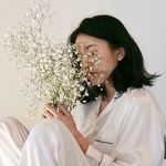 ياسمين شامي Flowers Lei Necklace Garden