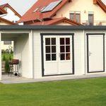 1 Oberlicht Fenster Oberlichtfenster Holz Garten Haus Gartenhaus VerrüCkter Preis Geräte Bauer