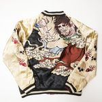 Adidas originals rasta vintage bomber Condition Depop