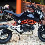 Icon deployed cinturón-camo Supermoto Street Motorcycle