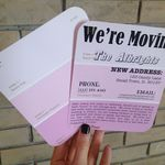 Moving Announcement Moving Announcements Moving Cards Diy Moving