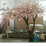 Uvg Chr016 Guangzhou Manufactory 4m High Wedding Decking Larger Artificial Cherry Blossom Flowering Cherry Tree Fake Trees Tree Wedding
