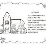 Pin De Luz Velasquez De Rodas En Cantos Infantiles Letras De