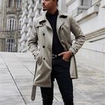 Men's Clothing 2018 Newly Fashion Winter Jacket Men Fur Collar Hooded Long Coat Velvet Warm Parka Men Thick Outwear Casual Windproof Trench Aromatic Character And Agreeable Taste