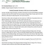 Press Release National Geographic Adventurer Of The Year Jennifer Pharr Davis To Lea Niagara Falls State Park National Geographic Magazine National Geographic
