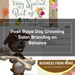 Dog Grooming Business Panosundaki Pin