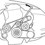 Solved Belt Routing Diagram For Serpentine Belt On 2007 Fixya 2007 Honda Civic Honda Civic Sedan Honda Civic Dx