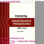 Toyota Avensis 2002 2007 Complete Service Repair Manual In 2020 Repair Manuals Toyota Avensis Toyota