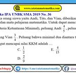Soal Dan Pembahasan Matematika Peluang