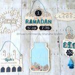 مفارش رمضان لطاولة الاكل Ramadan Crafts Ramadan Activities Ramadan Decorations