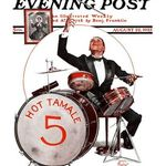BONONIA original musicien VINTAGE poster DRUMS percussion CLASSIC 24X36
