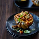 Turkey Mushroom Ragu Stuffed Acorn Squash Recipe Strawberry