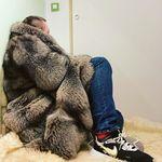 Fashion Style Men's Winter Jacket With Raccoon Fur&rabbit