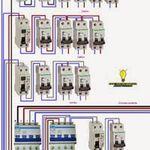 Schema De Cablage D Un Moteur Electrique Et Une Pompe A Eau Moteur Electrique Electrique Schema Electrique