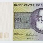 Duzentos Cruzeiros Dona Iaia Com Imagens Fotos De Dinheiro