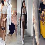 ملابس محجبات لفصل الخريف و الشتاء 2021 Fashion Coat Duster Coat