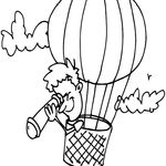 Pin Oleh Coloringsky Di Air Balloon Coloring Pages Halaman