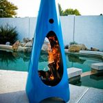 Free White Glove Shipping On Sculptural Firebowls By Artist John T Unger American Made Firepits Valued For Thei Modern Fire Pit Deck Fire Pit Fire Pit Party