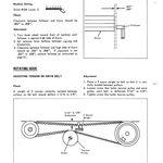 Pin On Mower Belts