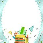 ناقلات حقيبة مدرسية آلة حاسبة سماوي الكرتون راية Imagenes De Fondo Diseno Banner Pancartas